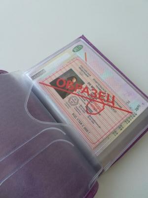 Обложка для паспорта 102-20