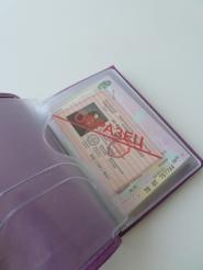 Обложка для паспорта 102-18